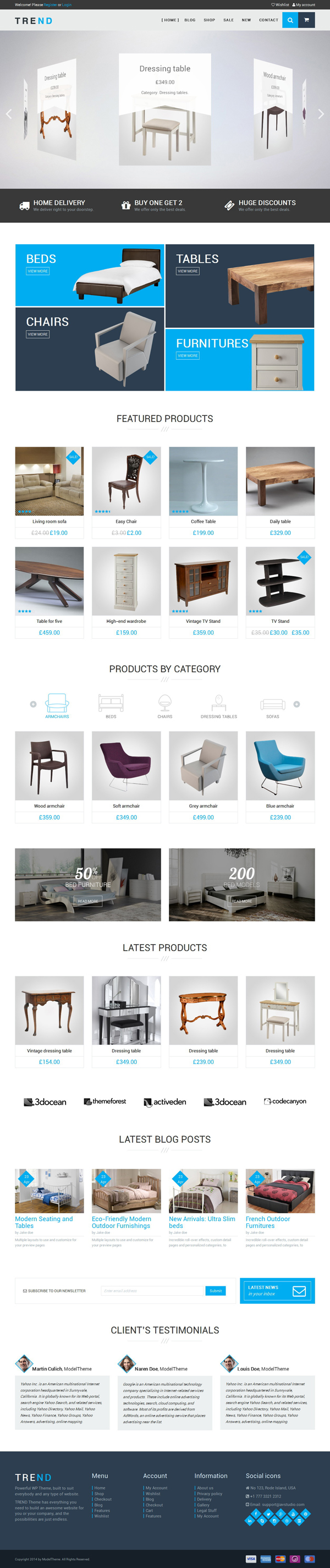 TREND - WooCommerce WordPress Theme