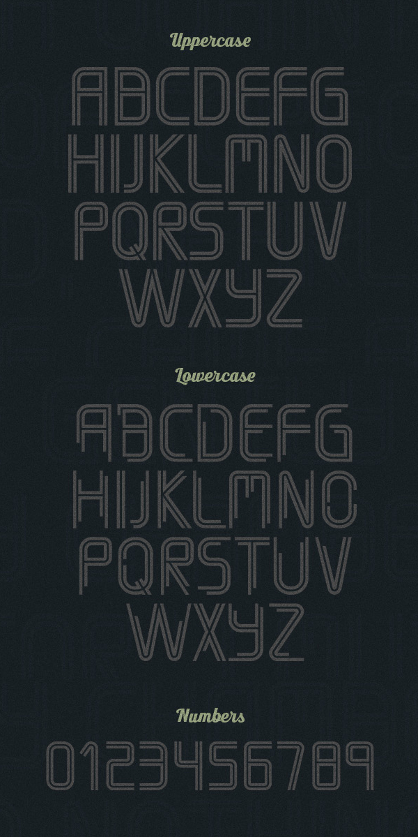 Timber fonts