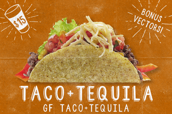 Taco & Tequila is an awesomely funky font from design surplus