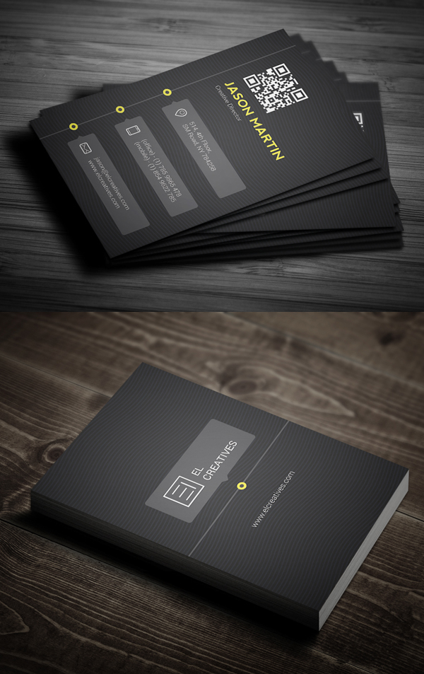 Business Cards Design: 50+ Amazing Examples to Inspire You - 14