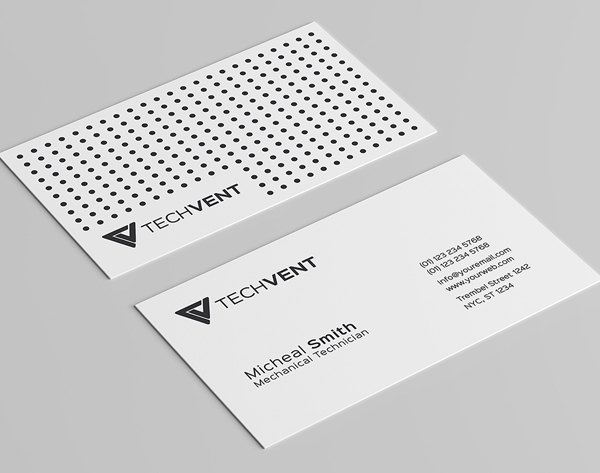 Modern business card psd templates design graphic design junction minimal business card flashek Images