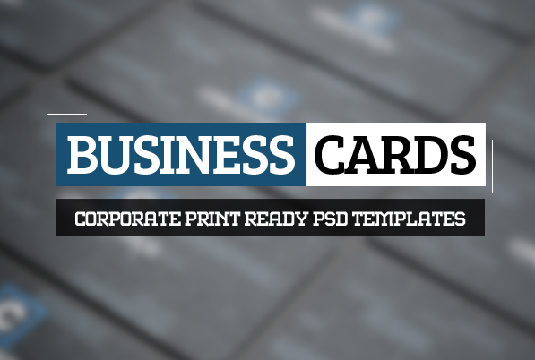 Modern Business Card PSD Templates