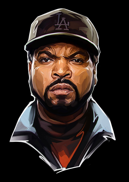 27 Creative Digital Illustrations Art Examples for ... Tupac And Biggie Painting