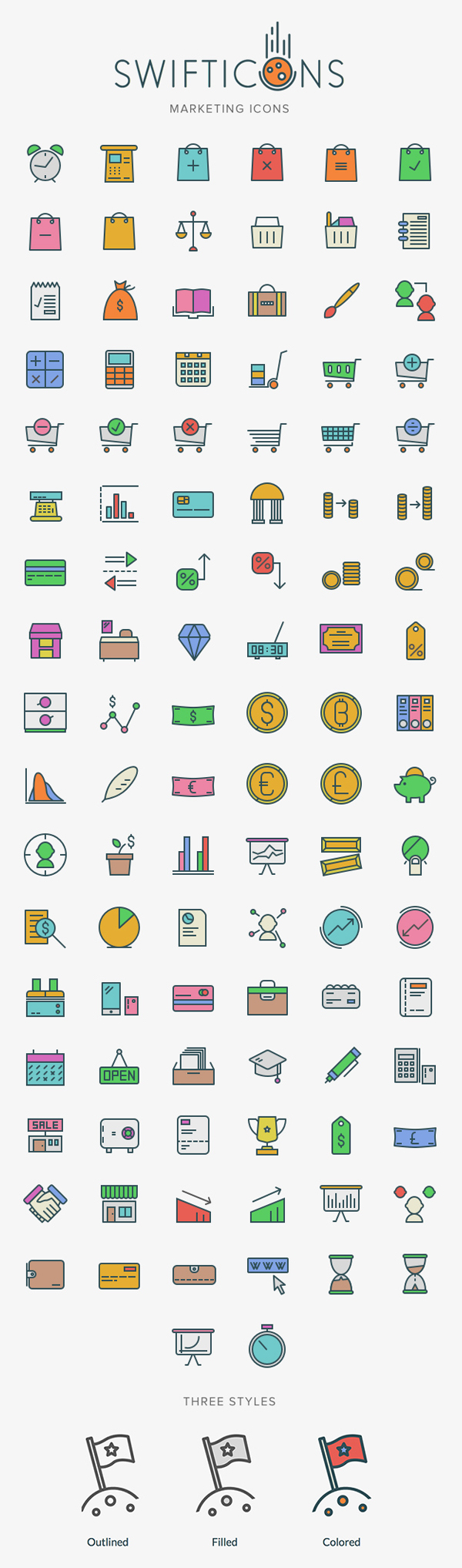 Free Marketing Icons - 100+ Icons