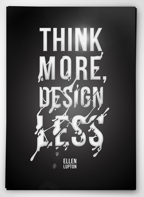 Typography Posters: 30 Motivational and Inspiring Quotes - 3
