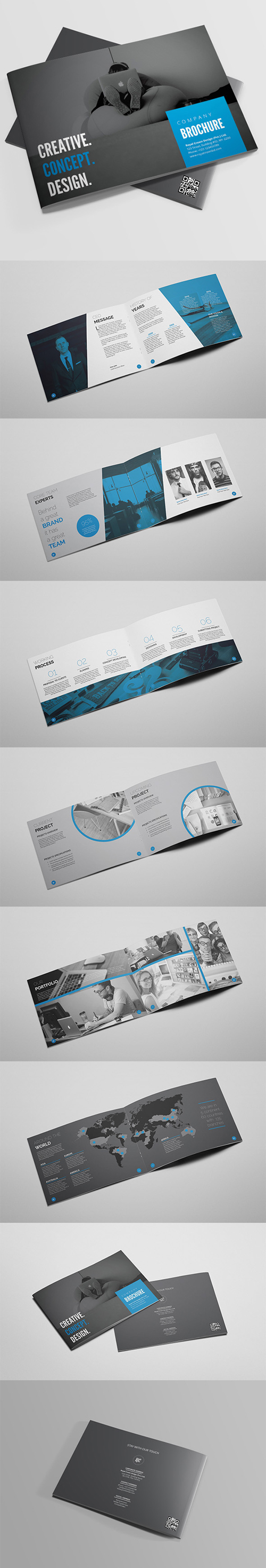 Clean Creative Brochure Template