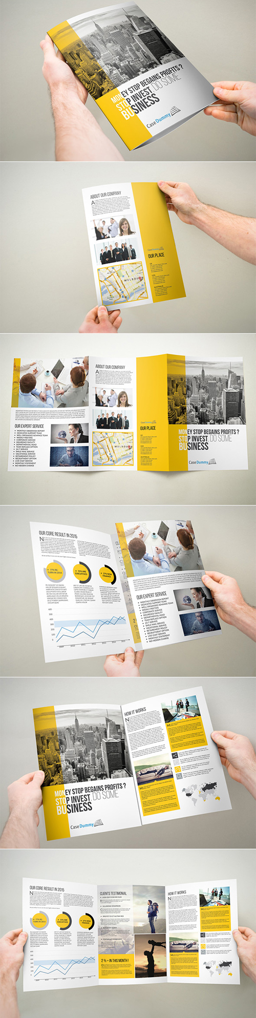 New Corporate Business Brochures | Design | Graphic Design Junction