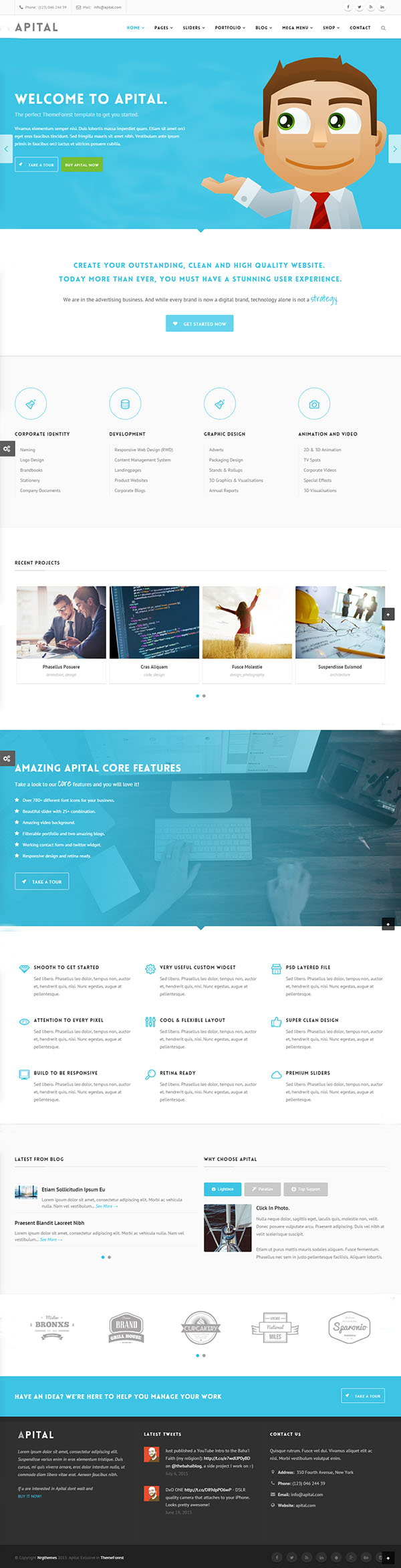 Apital – Multi-Purpose Business WordPress Theme