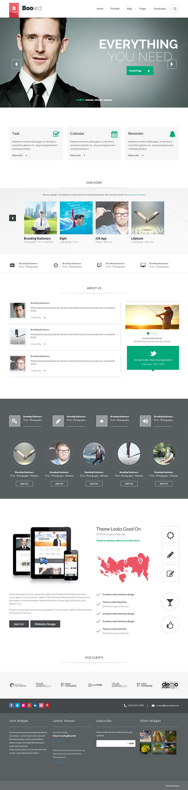 Booard - Corporate WordPress Theme