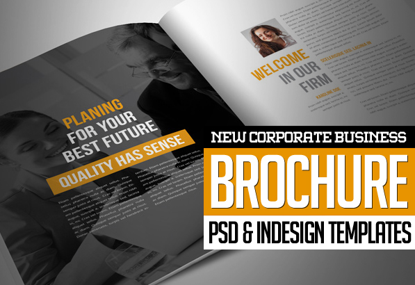 New Corporate Business Brochures  Design  Graphic Design Junction