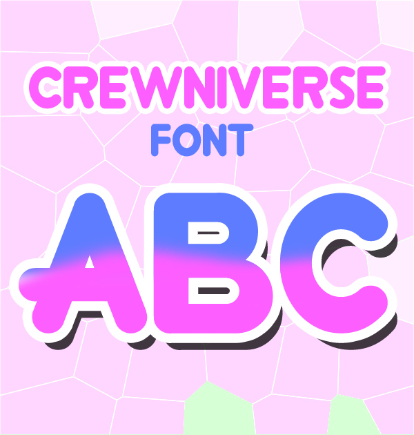 Crewniverse rounded free font