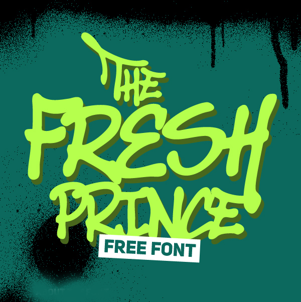 The Fresh Prince free fonts
