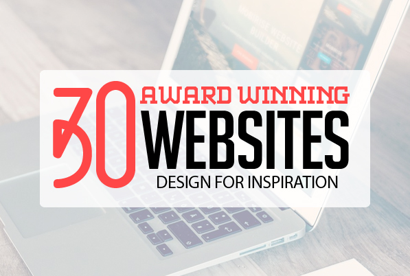 30 Fresh Award Winning Websites for Inspiration