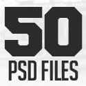Post Thumbnail of 50 Best Free PSD Files for Designers