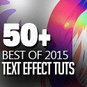 Post thumbnail of 50 Best Text Effect Tutorials