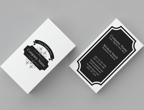 Minimal Vintage Business Card