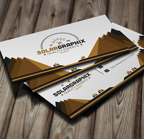 Solar Creative Business Card