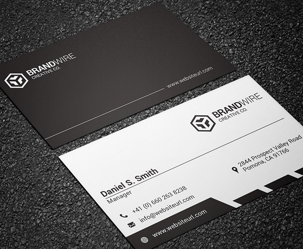 Business Cards Design: 50+ Amazing Examples to Inspire You - 34