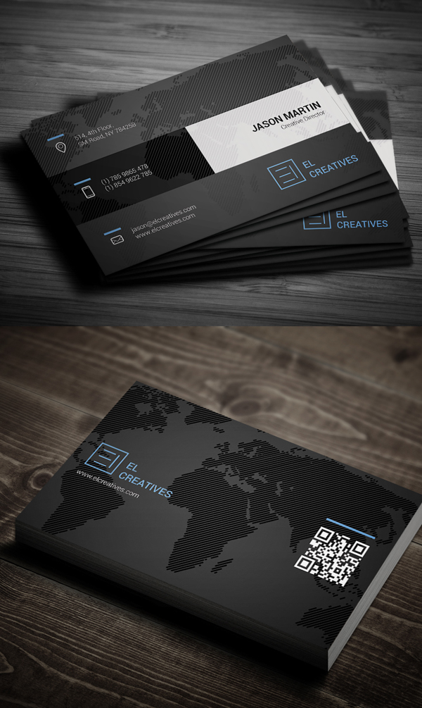 Business Cards Design: 50+ Amazing Examples to Inspire You - 50