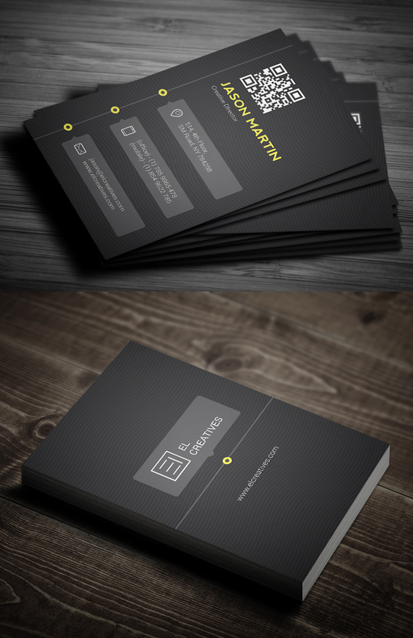 Creative Timeline Business Card
