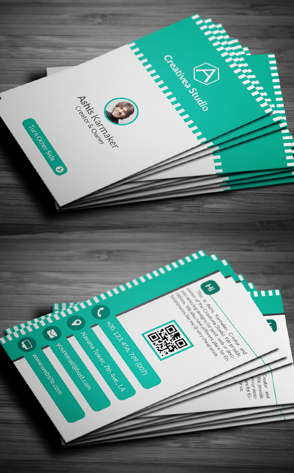 Enterprenure Business Card