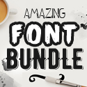 Post thumbnail of Amazing Font Bundle for Designers (23 New Fonts)