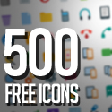 Post Thumbnail of 500 Free Icons for ios8 & Android UI Design