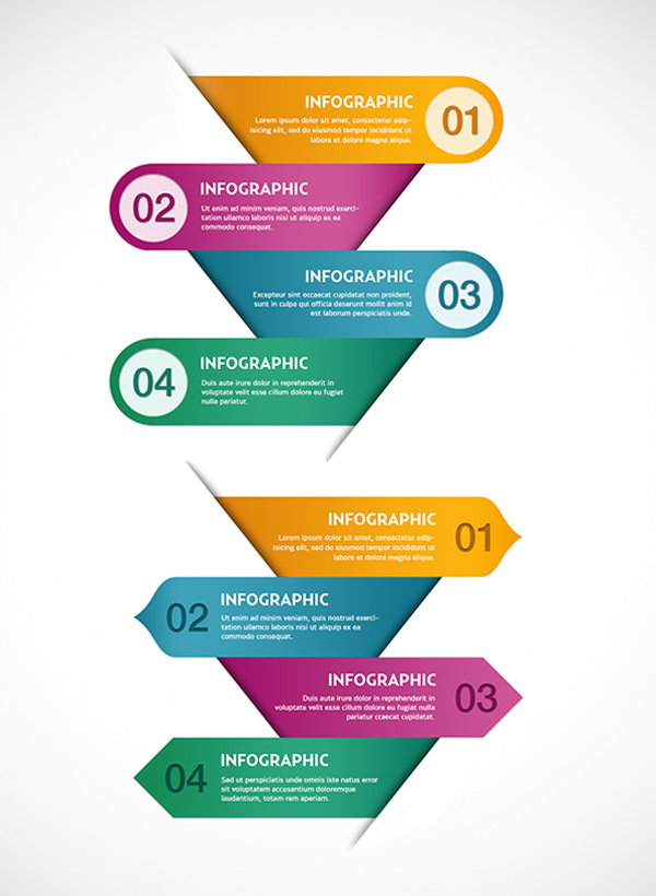 Free PSD Infographics Template