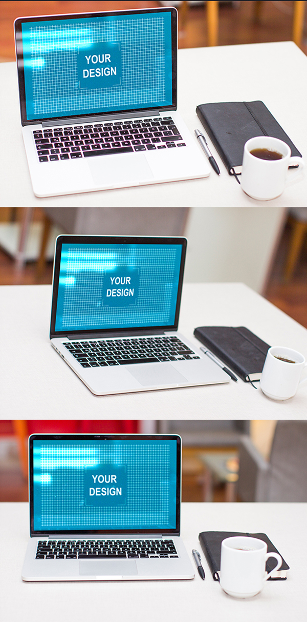 Free Apple Macbook Pro Mock Up