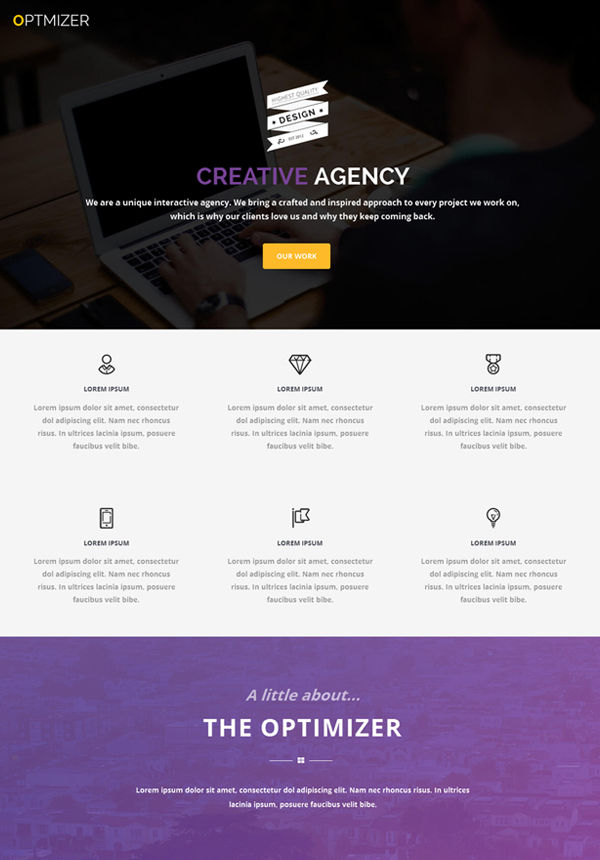 Optimizer – Free WordPress Theme