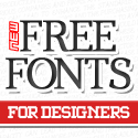 Post Thumbnail of 14 New Free Fonts for Designers