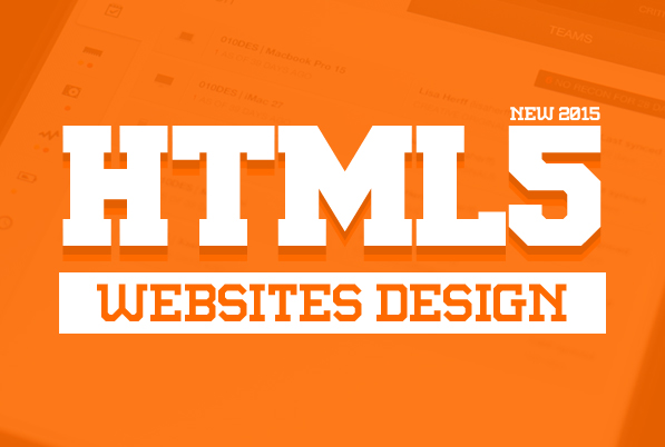 HTML5 Websites Design – 25 New Web Examples