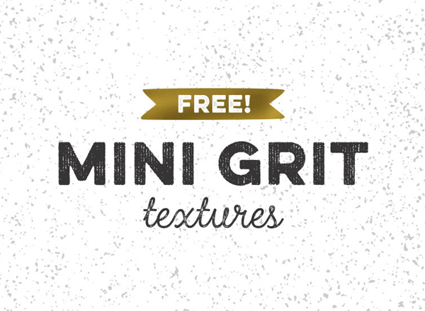 Freebie: Vector Mini Grit Textures