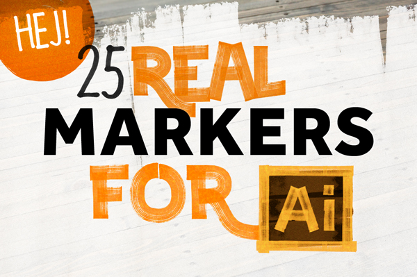 Free 25 Real Markets for Illustrator