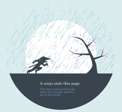 Creative 404 Error Page Designs