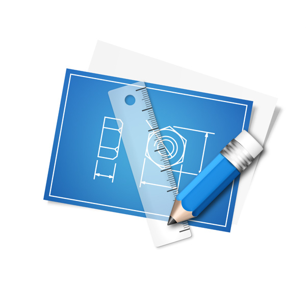 Blueprint Free PSD Icon
