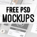 Post thumbnail of Free Photoshop PSD Mockup Templates (25 New MockUps)