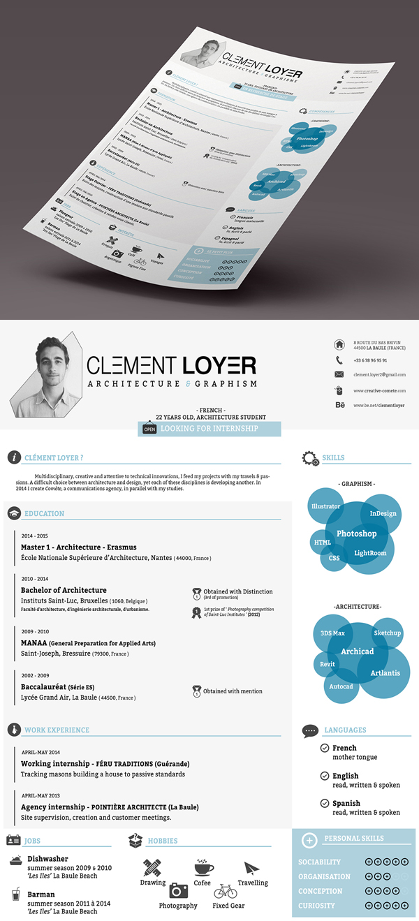 Freebie - 2015 Resume Template