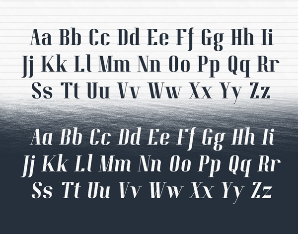 Pitch Display letters