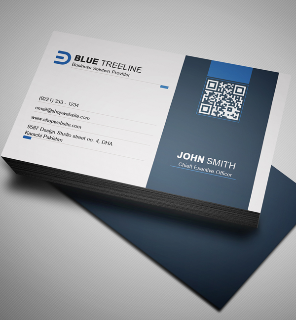 Free modern business card psd template freebies for Modern business cards templates