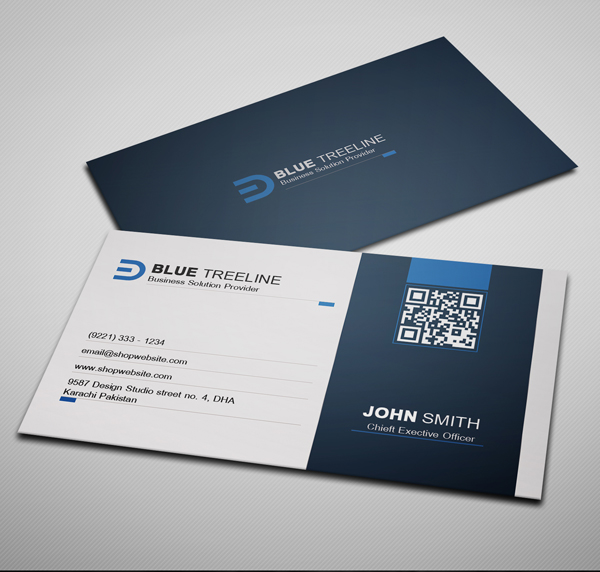 Free Modern Business Card PSD Template | Freebies | Graphic Design ...
