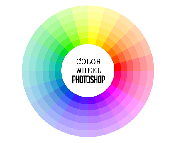 Color wheel photoshop
