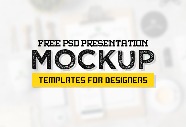 New Highest Quality Photoshop Free PSD Mockups