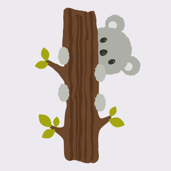 How to Create a Koala Illustration in Adobe Illustrator
