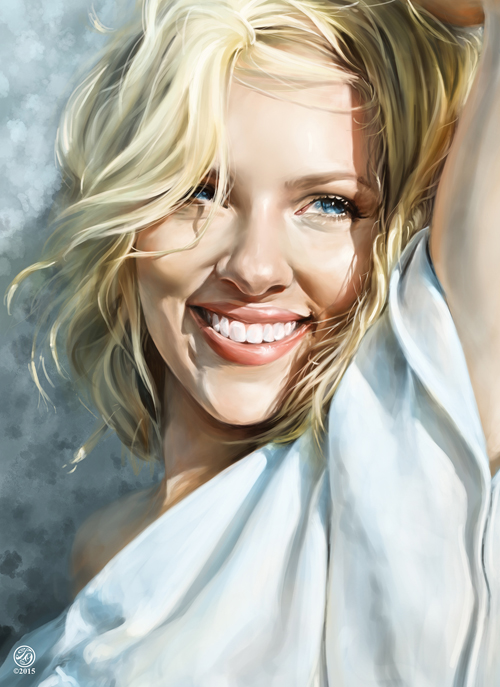 Amazing Digital Portrait Illustrations For Inspiration