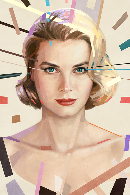 Grace Kelly Portrait by Ástor Alexander