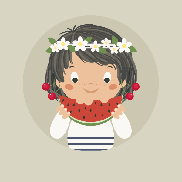 How to Create a Summer Girl Illustration in Adobe Illustrator