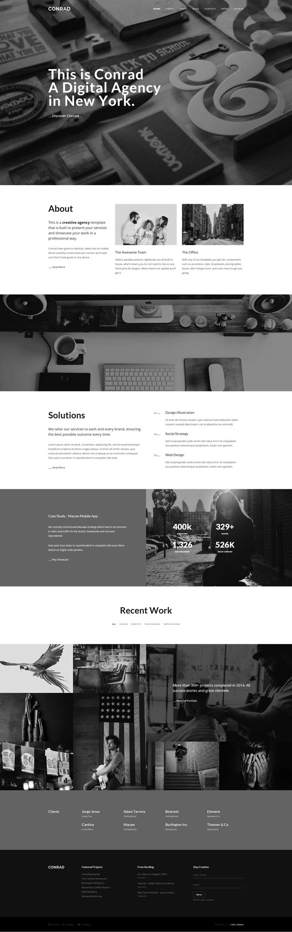 Responsive HTML5 Web Templates Design | Design | Graphic Design Junction