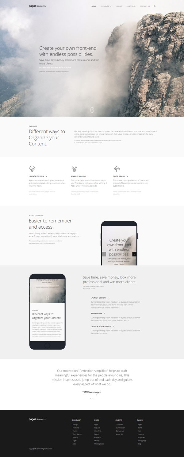 Pages - Multi-Purpose HTML5 Website Template