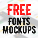Post Thumbnail of 46 Free Fonts and Presentation Mock-Ups Bundle